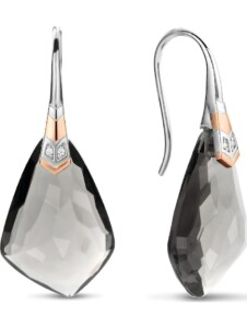 Ti Sento – Milano Damen-Ohrhänger 925er Silber Kristall Ti Sento Milano bicolor