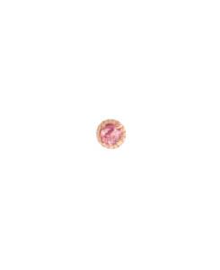 TOURMALINE Ohrstecker|Single Rosé