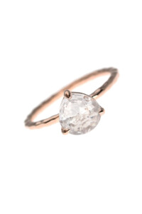 TRIANGLE PETITE Ring Bergkristall