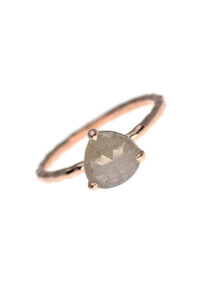 TRIANGLE PETITE Ring Labradorit