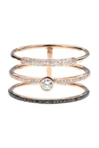 TRIPLE Diamant Dreifachring