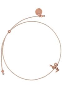 VINTAGE BUNNY Armband rosé vergoldet