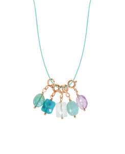 VIVID GEMS|Halskette Blau