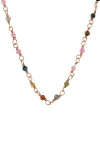 VIVID Halskette rosé vergoldet