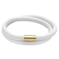 Weißes Charm Armband