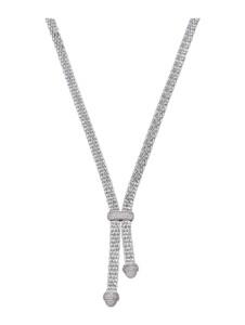 Y-Collier Diemer Trend Silberfarben